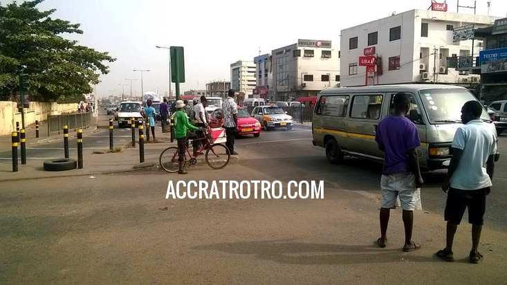 Kaneshie to Accra trotro station