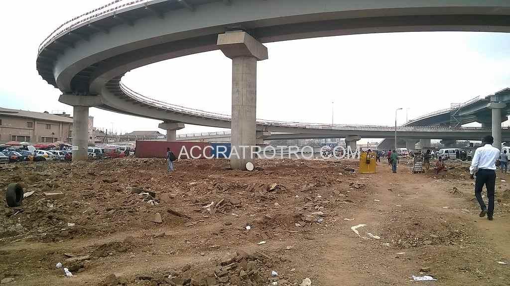 Accra Neoplan Kaneshie trotro station
