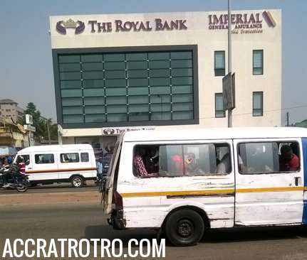 Trotro bus fares in Accra – update June 20, 2018