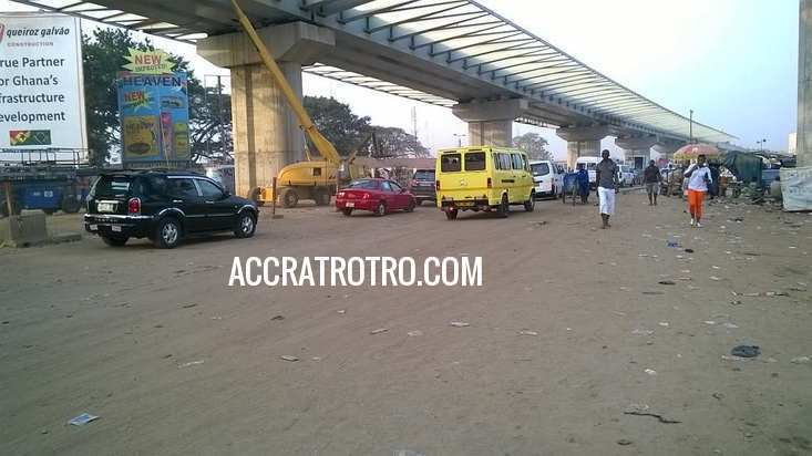Accra trotro drivers defy government on 15% fare increment