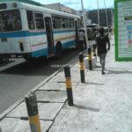 Trotro Tata bus at Accra Arena